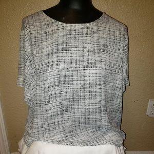 Worthington top short sleeve shirt X-large